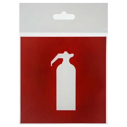 Наклейка Огнетушитель маленькая пластик