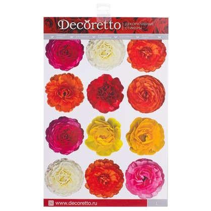 Купить Наклейка Разноцветия Декоретто L дешевле