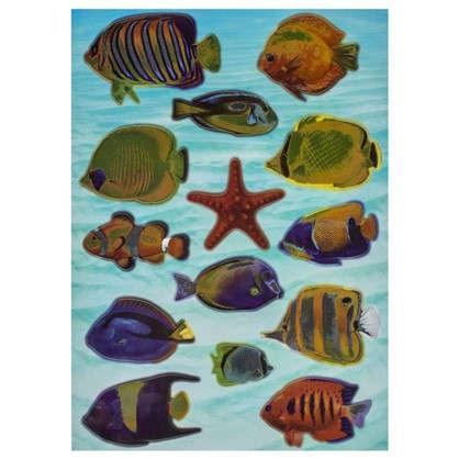 Наклейка Рыбы Красного моря Декоретто L