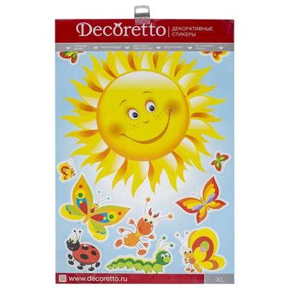 Наклейка Румяное солнышко Декоретто XL