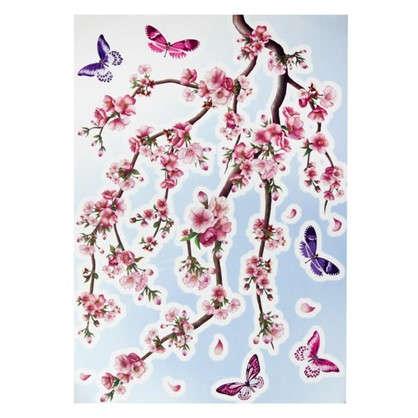Купить Наклейка Сакура Декоретто XL дешевле
