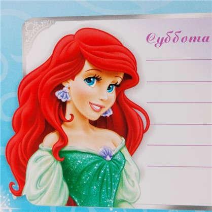 Наклейка Школа-расписание Принцессы Декоретто S