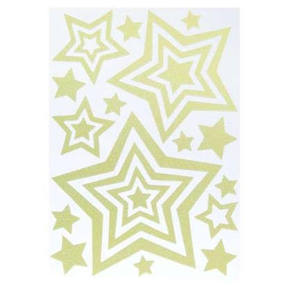 Наклейка светящаяся Звезды EVA 0404