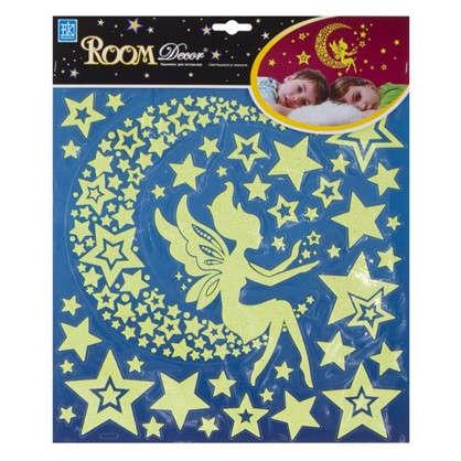 Наклейка светящаяся Звездная фея RЕA 2001