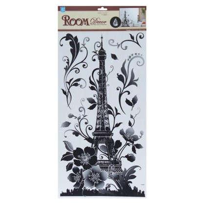 Наклейка влагостойкая Эйфелева башня RDA 5634