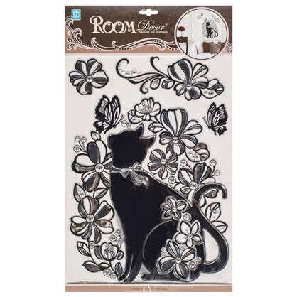 Наклейка влагостойкая Кошка POA 5855