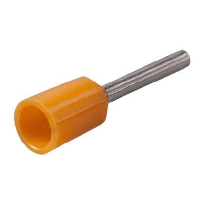 Купить Наконечник-гильза Е0508 05 мм2 цвет оранжевый 100 шт. дешевле