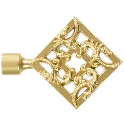 Купить Наконечник Вензель 11 см цвет золото матовое дешевле