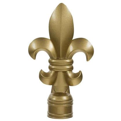 Наконечник Викториан 9.5 см цвет золото матовое