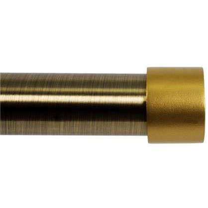 Наконечник Заглушка цинковый сплав цвет золото матовое 2 см 2 шт.