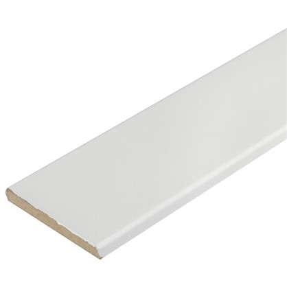 Наличник 70 мм ламинация цвет белый