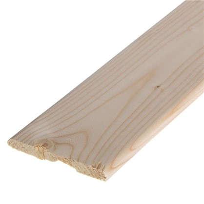 Наличник плоский 10х95х2200 мм сосна