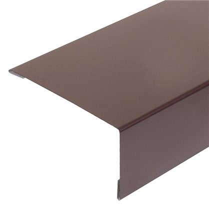 Наличник полиэстер цвет коричневый