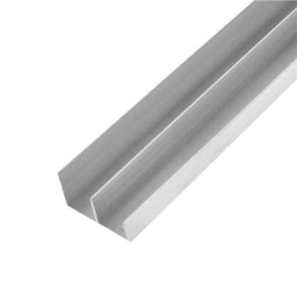 Купить Направляющая для шкафа купе нижняя MC-L90-H 1800 мм нагрузка до 45 кг алюминий дешевле