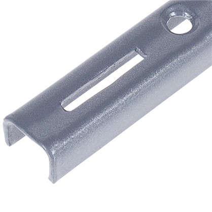 Купить Направляющая однорядная 50 см 55 кг/20 см цвет матовое серебро дешевле
