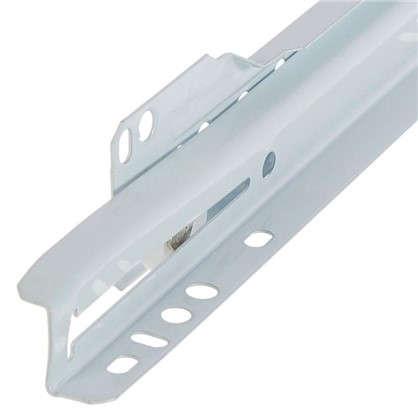 Купить Направляющие роликовые Boyard DS01W.1/350 металл цвет белый дешевле