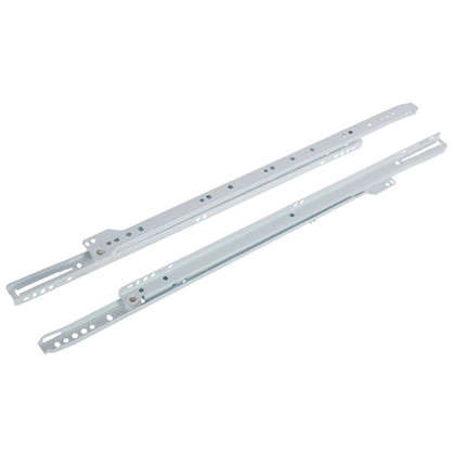 Купить Направляющие роликовые Boyard DS01W.1/500 металл цвет белый дешевле