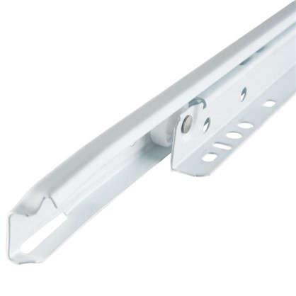 Направляющие роликовые Boyard DS01W.1/550 металл цвет белый