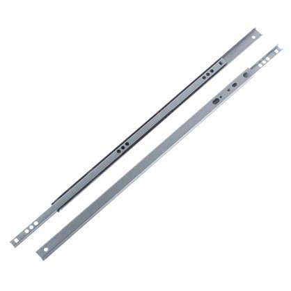 Купить Направляющие шариковые Boyard DB1711 400 мм металл цвет цинк дешевле