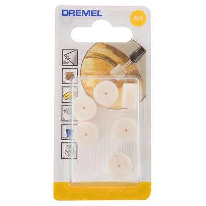Насадка для чистки и полировки Dremel 414 5 шт.