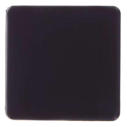 Насадки Standers 40х40 мм квадратные пластик цвет черный  4 шт.