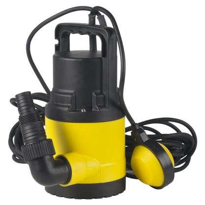 Насос погружной дренажный 6500 л/час для чистой воды