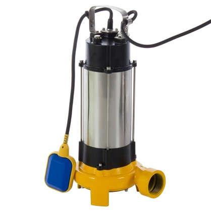 Насос погружной дренажный фекальный DWP 18000 л/час для грязной воды с ножами