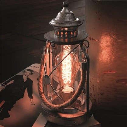 Настольная лампа Bradford 1xE27х60 Вт стекло цвет серебро