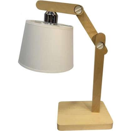 Настольная лампа Эктор 1хЕ27х60 Вт цвет белый