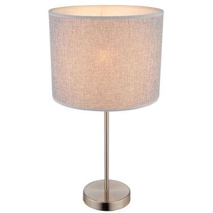 Настольная лампа Globo 15185T1 1xE27х60 Вт цвет бежевый