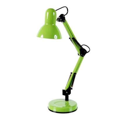 Настольная лампа Inspire Ennis 1xE14х40 Вт металл цвет фисташковый