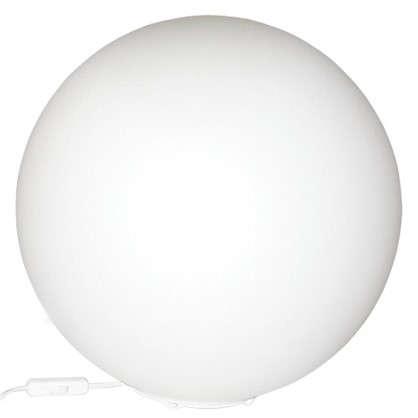Настольная лампа Магия 1xE27x60 Вт 25 см стекло/опал цвет белый