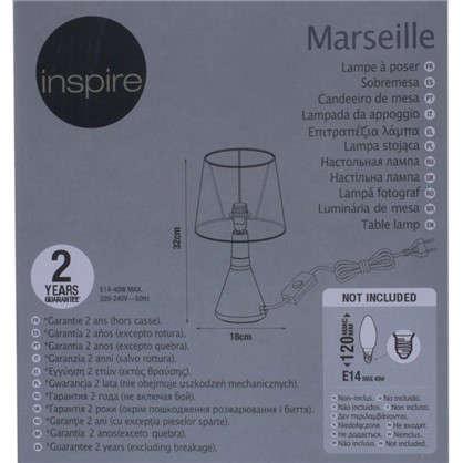 Доставка Настольная лампа Marseille база 1xE14x40 Вт металл цвет латунь по России