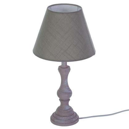 Настольная лампа Newlyn 1хE14x40 Вт цвет серо-коричневый