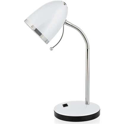 Купить Настольная лампа Pix 1xE27x40 Вт цвет белый дешевле