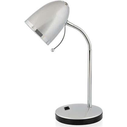 Настольная лампа Pix 1xE27x40 Вт цвет серебро