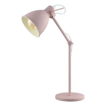 Купить Настольная лампа Priddy-P 1хЕ27х60 Вт цвет абрикосовый дешевле