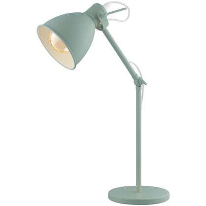 Купить Настольная лампа Priddy-P 1хЕ27х60 Вт цвет светло-зеленый дешевле