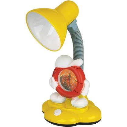 Настольная лампа с часами Camel KD-388 цвет желтый