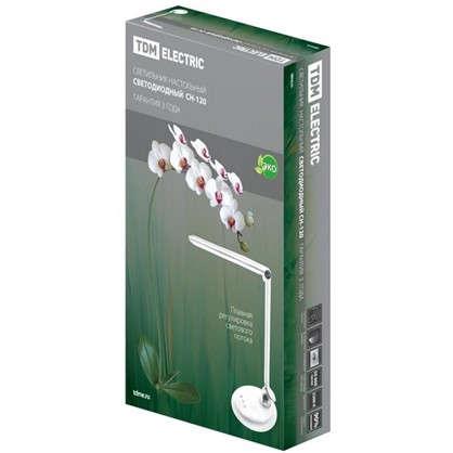 Купить Настольная лампа СН-120 8 Вт диммер цвет белый дешевле