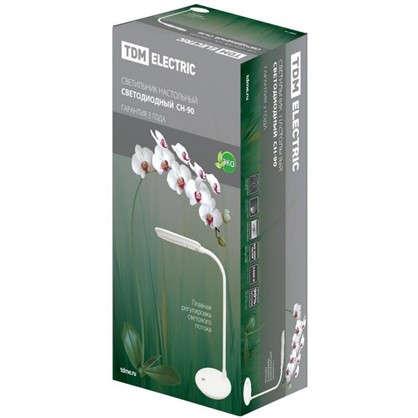 Купить Настольная лампа СН-90 5 Вт диммер цвет белый дешевле