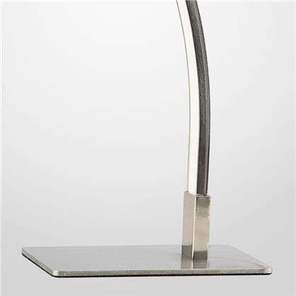 Купить Настольная лампа светодиодная Хай Тек 80401/1 295 Лм цвет сатин дешевле