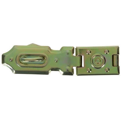 Навеска Gah Alberts безопасная с проушиной для навесного замка 26x105 мм