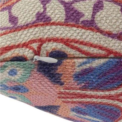 Купить Наволочка декоративная Boho 40x40 см цвет розовый дешевле