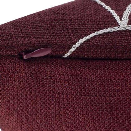 Наволочка декоративная GreatGatsby 40x40 см цвет красный