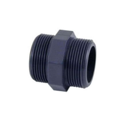 Купить Ниппель пластиковый наружная-наружная резьба 25х25 мм дешевле