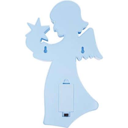 Купить Ночник Ангел 3 Вт цвет голубой дешевле