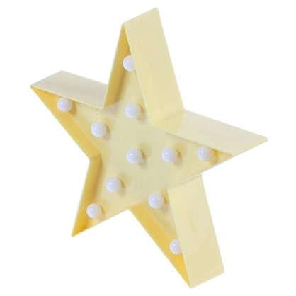 Ночник светодиодный Звездочка 3 Вт 250 Лм свет теплый белый