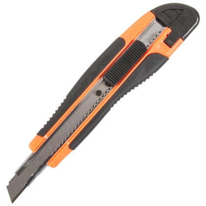 Нож 9 мм двухкомпонентная ручка