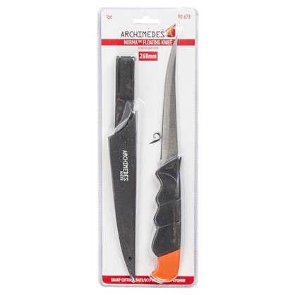 Нож с пластиковыми ножнами